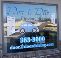 Driving School Storefront